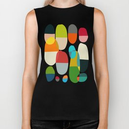 Jagged little pills Biker Tank