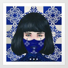 Tiles I Art Print