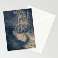 Dark portrait II  (colour option) Stationery Cards