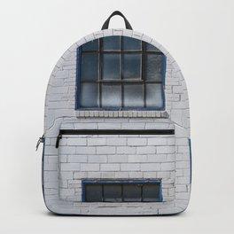 GLASS WINDOW PANE ON WALL Backpack