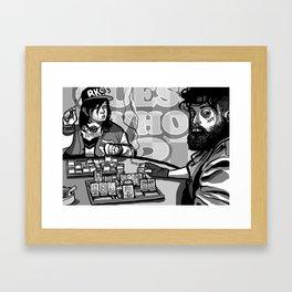 INNIT 2 WINNIT Framed Art Print
