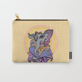 Hindu God Ganesha. Hand drawn illustration. Carry-All Pouch