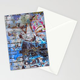 mur graffiti Stationery Cards