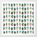 Succulent Pattern by yasminbrooks