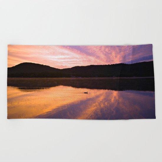 Seek Serenity Beach Towel