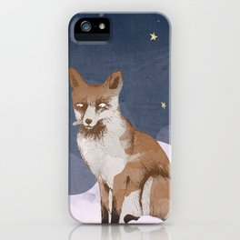 Fox Heaven iPhone Case