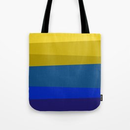 Blues and golds Tote Bag