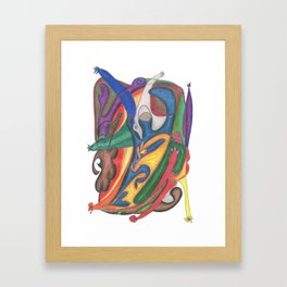 Drawing #64 Framed Art Print
