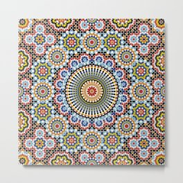 Decoration Engineering marooca Metal Print