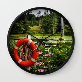 Life Saver Wall Clock