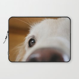 Fluffy Tetriever Close up Laptop Sleeve