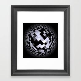 black-and-white -05- Framed Art Print