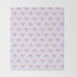birds (4) Throw Blanket