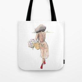 Hello Spring( NubianRockChick) Tote Bag