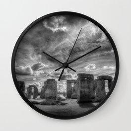 Ancient Stonehenge Wall Clock