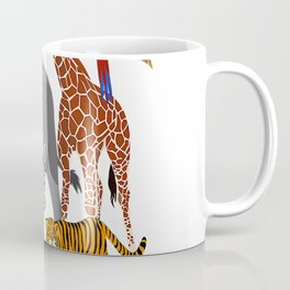 Zoo Animals Shirt Wildlife Birthday Party A Day At The Zoo T-Shirt Coffee Mug