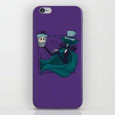Hatbox Jack iPhone & iPod Skin