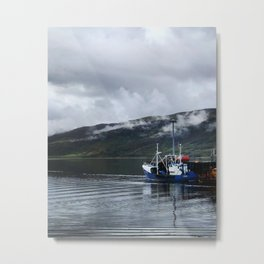 Ullapool harbor Metal Print