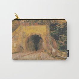 Vincent van Gogh - Roadway with Underpass Carry-All Pouch