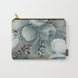 Spring Tulips Neutral  Carry-All Pouch