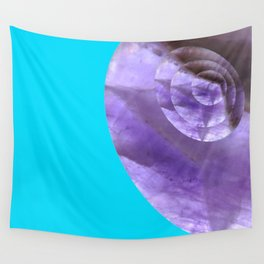 Light Blue Mystical Powers of Amethyst #society6 Wall Tapestry