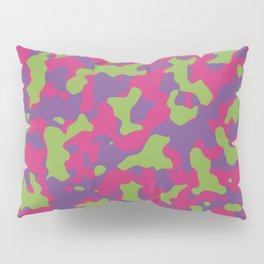 Camouflage Floral Pillow Sham