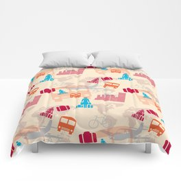 Travel Fever Comforters