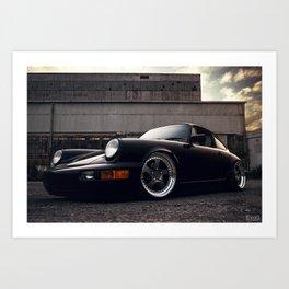 Porsche 964 Art Print