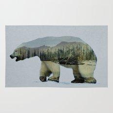 The Arctic Polar Bear Rug