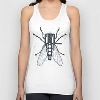 deadmau5 Tank Tops featuring Cartridgebug by Sitchko Igor