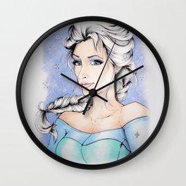 Elsa The Ice Queen Wall Clock