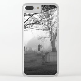 They're coming to get you Barbara... Clear iPhone Case