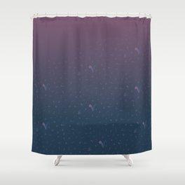 arabic tashkeel grediant Shower Curtain