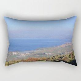 Sea of Galilee Rectangular Pillow