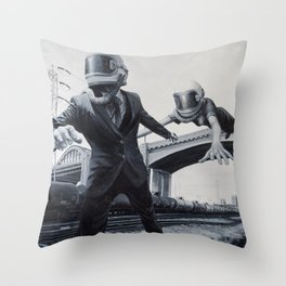 186,000 Miles A Second Throw Pillow