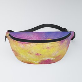 Just sunrise - pastel landscape Fanny Pack