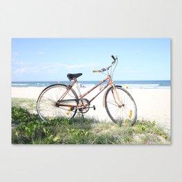 Vintage Beach Canvas Print