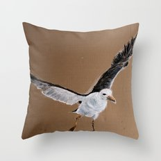 Laridae Throw Pillow