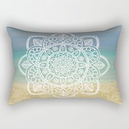 Beach Mandala Rectangular Pillow
