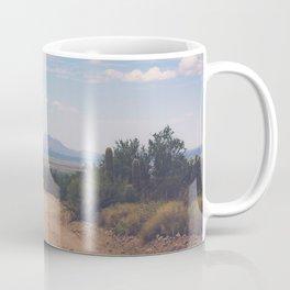 Down Desert Roads Coffee Mug