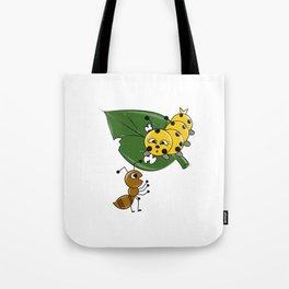 Talking Animals Tote Bag