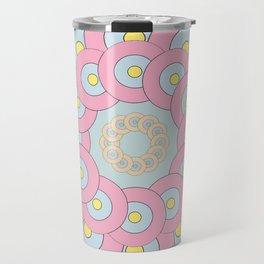 Simple Mandala Travel Mug