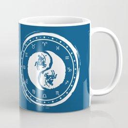 Sagittarius Yin Yang Ninth Zodiac Sign Coffee Mug