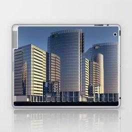 skyscraper skyscrapers building Laptop & iPad Skin