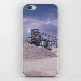 DE - Gravel processing plant Rißtissen Germany iPhone Skin