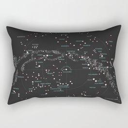 Norra Stjärnhimlen Rectangular Pillow