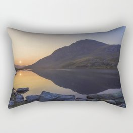 Tryfan at Dawn Rectangular Pillow
