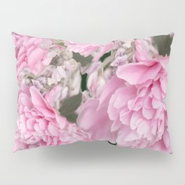 Pink Bouquet On A Black Background  #society6 #buyart Pillow Sham