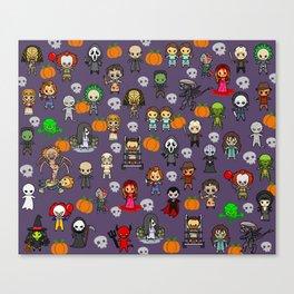 halloween horror special blanket Canvas Print