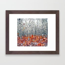 :: Run Free Woods :: Framed Art Print